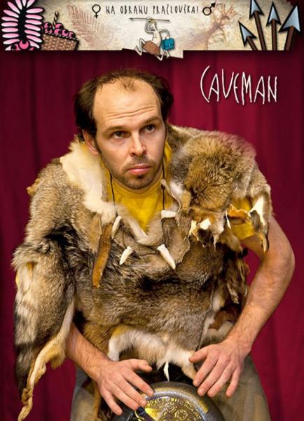 Caveman One Man Show : Rob becker caveman mělník